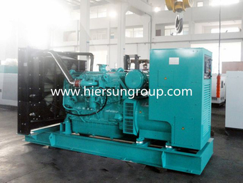 4 x 500 kVa 415 Volt 50 Hz Open Skid Mounted Diesel Generators For Australia Mining Project