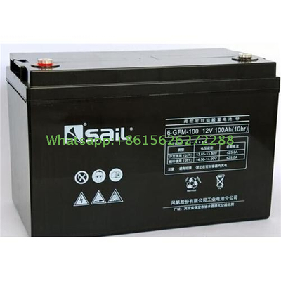 Lead-acid Sealed Valve-regulated Batteries (VRLA), Type 6-GFM-100 With RS certificate